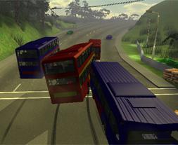 Soferul de Curse cu Autobuze