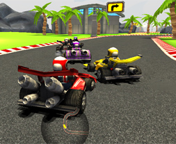 Mini Formula 1 cu Karturi 3D