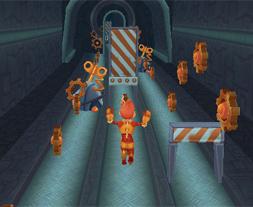 Robotul Alearga la Metrou